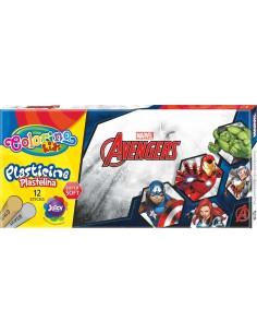Plasticine Colorino Avengers