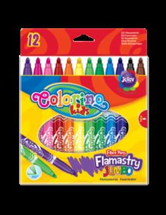 Flamastry JUMBO 12 kolorów