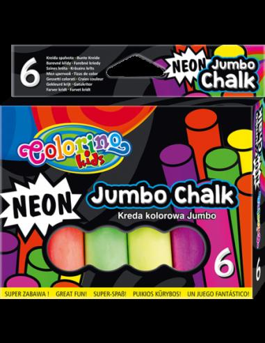 Neon Jumbo Chalk 6 colours