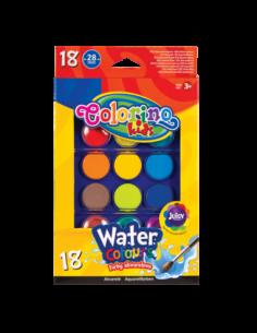 Water Colours big 18 colours