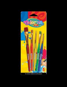 Acrylic Paint Brushes 5pcs