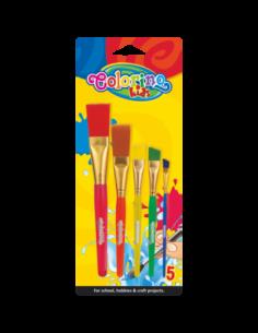 Jumbo Acrylic Paint Brushes...