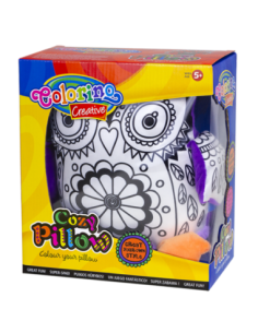 Owl Pillow for coloring
