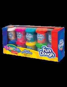 Masa Fun Dough 10 kolorów