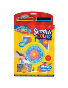Scratch and Color Book