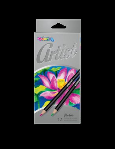 Kredki ołówkowe Artist 12 kolorów