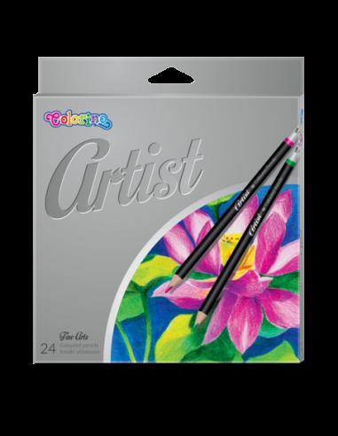 Kredki ołówkowe Artist 24 kolory