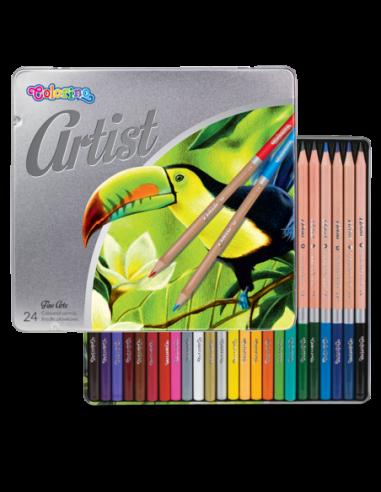 Kredki ołówkowe Artist 24 kolory,...