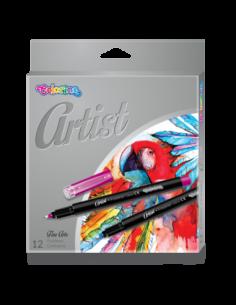 Artist Fineliners 12 colours