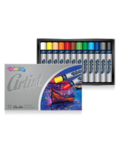 Artist Oil Pastels 12 colours