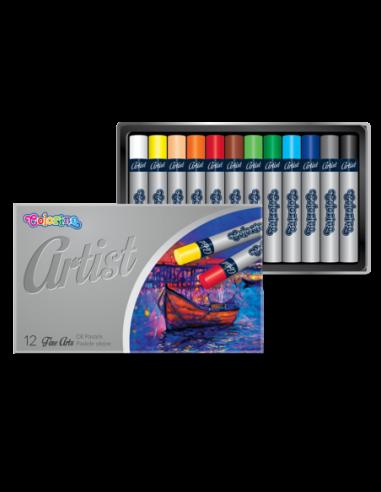 Pastele olejne Artist 12 kolorów