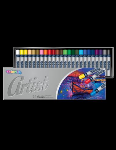 Pastele olejne Artist 24 kolory