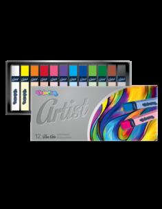 Artist Soft Pastels 12 colours