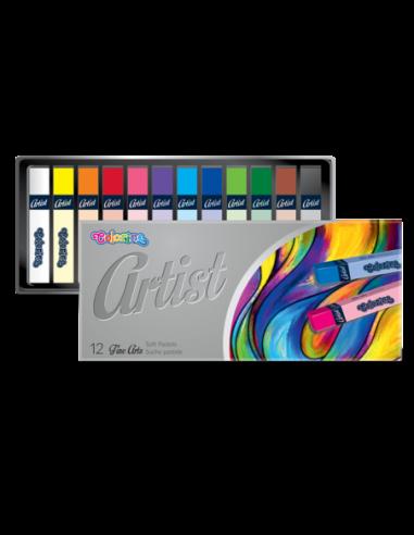 Suche pastele Artist 12 kolorów