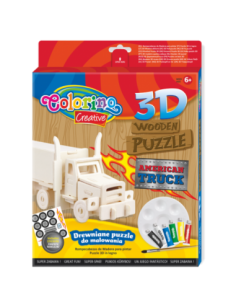 3D Wooden Puzzle American...