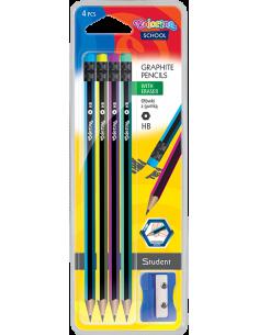 Ołówki heksagonalne HB +...