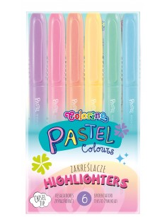 Pastel Highlighters 6 colours