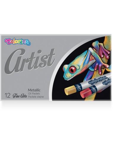 Artist Metallic Oil Pastels 12 colours