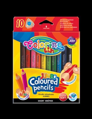 JUMBO Triangular Coloured Pencils 10...
